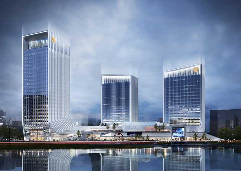 高新科技大厦透视图2