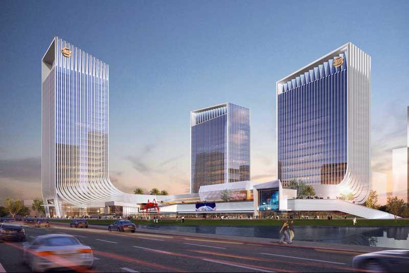 高新科技大厦透视图1