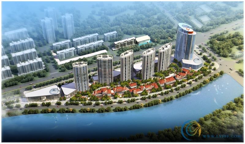 金泰华城二期鸟瞰图