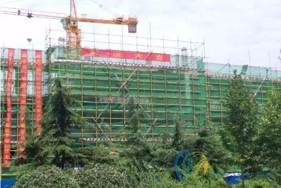 沂河湾实验学校封顶