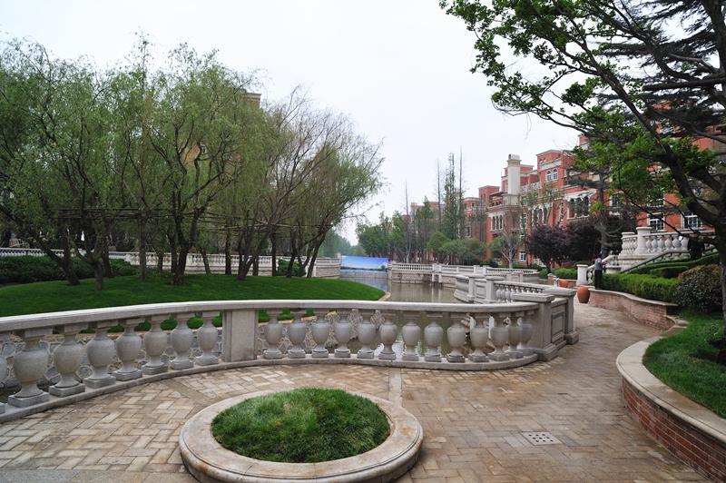 致远翡翠园 景观绿化实景