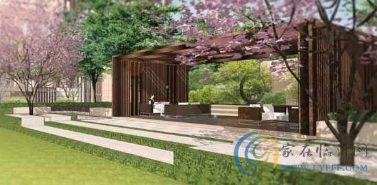 新房中心 看房日记     三轴分别指:北入口景观中轴,西入口景观中轴