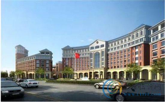 独有的新中式建筑风格使建筑本身看起来非常的端庄大气.