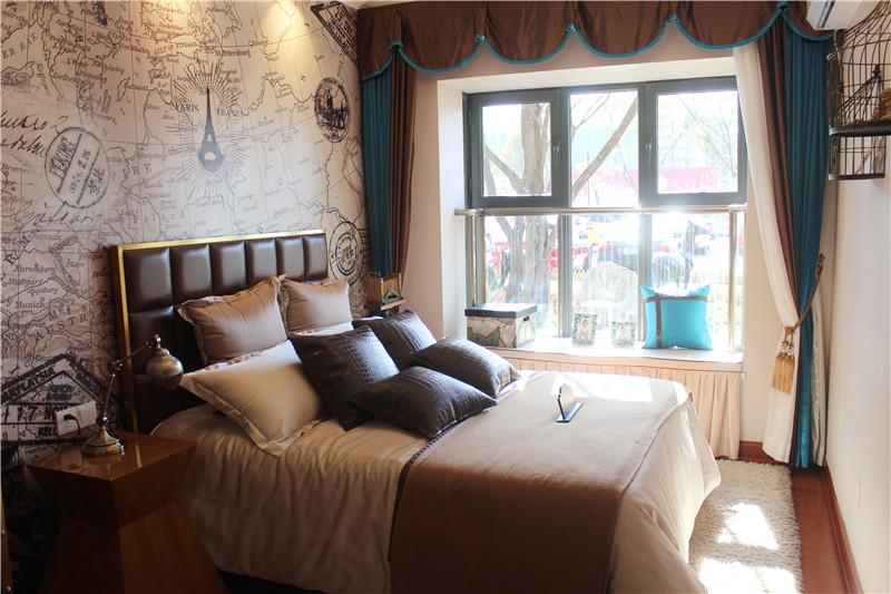 恒大翡翠华庭样板间 卧室