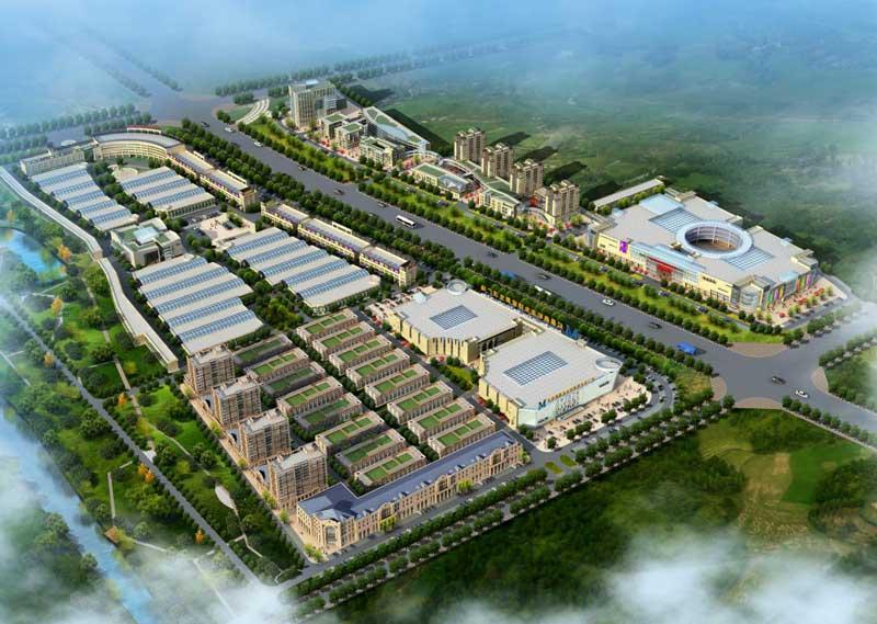 中国北方国际家居建材城 效果图