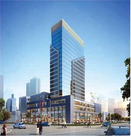 中国(华强)建材城 效果图