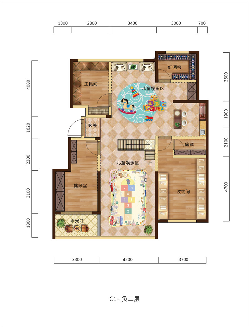 滨河名邸-0704-C1户型-11