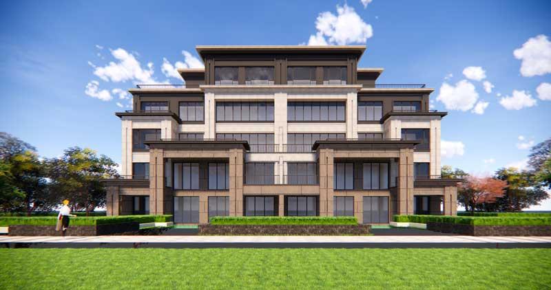 金樾门第 5层住宅南立面